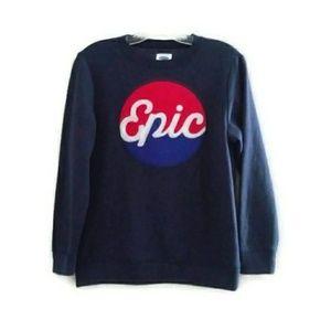 Old Navy EPIC Pepsi Logo Sweatshirt Boys Large
